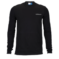 adidas Originals Modern Long Sleeve T-Shirt - Men's - All Black / Black