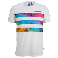 adidas Originals Vibrant City T-Shirt - Men's - White / Pink