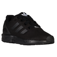 adidas Originals ZX Flux - Boys' Toddler - Black / White