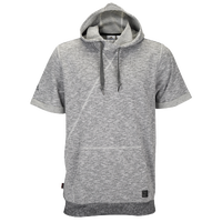 adidas Branded S/S Hoodie - Men's - Grey / Grey