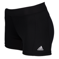 "adidas Techfit 3"" Compression Shorts - Women's - Black / Black"