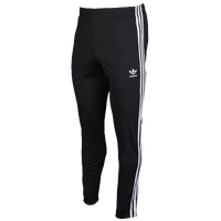 adidas Originals Open Hem Track Pants - Men's - Black / White