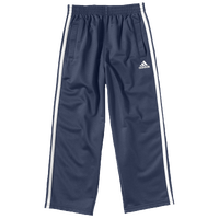 adidas Tricot Pants - Boys' Preschool - Navy / White