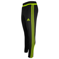 adidas Team Tiro 15 Training Pants - Men's - Black / Light Green