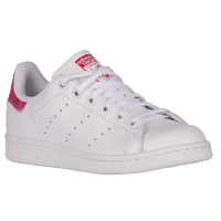 adidas Originals Stan Smith - Girls' Grade School - White / Pink