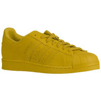 adidas Originals Superstar - Men's - Yellow / Yellow