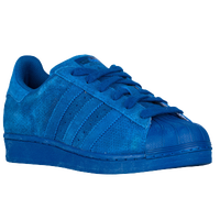 adidas Originals Superstar - Boys' Grade School - Blue / Blue