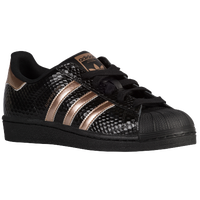 adidas Originals Superstar - Women's - Black / Brown