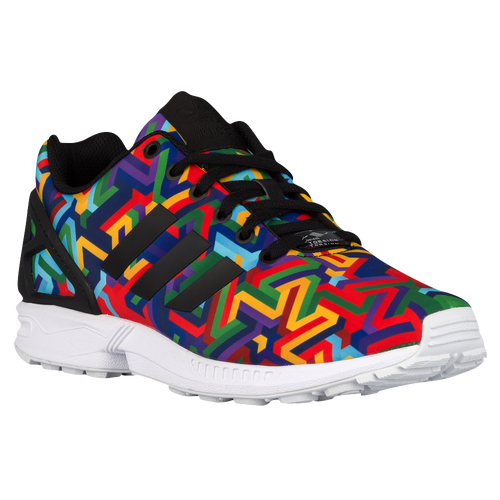 Adidas originals zx flux men s running shoes black black white