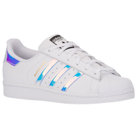 adidas Originals Superstar - Girls' Grade School - White / Silver