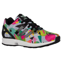 adidas Originals ZX Flux - Women's - White / Multicolor