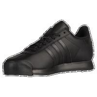 black and white adidas samoas