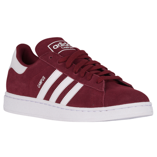 adidas campus burgundy men