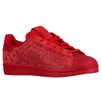 adidas Originals Superstar - Boys' Grade School - Red / Red