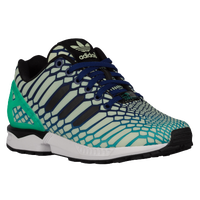adidas Originals ZX Flux - Boys' Grade School - Light Green / Black