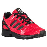 adidas Originals ZX Flux - Boys' Grade School - Red / Black