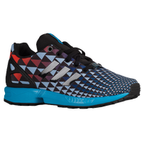 adidas Originals ZX Flux - Boys' Grade School - Black / Aqua