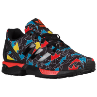 adidas Originals ZX Flux - Boys' Grade School - Black / Light Blue