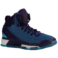adidas D Rose 6 - Boys' Grade School -  Derrick Rose - Purple / Light Blue