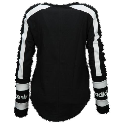 adidas Originals Three Stripes Long Sleeved T-Shirt - Women's