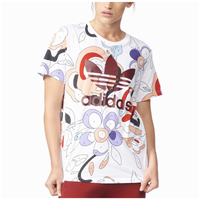 adidas Originals Rita Ora T-Shirt - Women's - White / Maroon