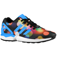 adidas Originals ZX Flux - Men's - Black / Light Blue