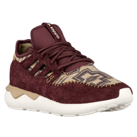 adidas Originals Tubular Moc Runner - Men's - Maroon / Tan