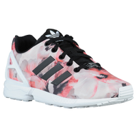 adidas Originals ZX Flux - Girls' Grade School - White / Black