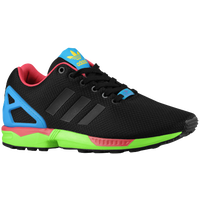 adidas Originals ZX Flux - Men's - Black / Light Green