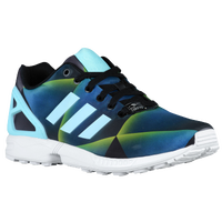 adidas Originals ZX Flux - Men's - Navy / Light Blue