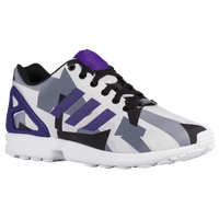 adidas Originals ZX Flux - Men's - White / Purple