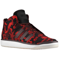 adidas Originals Veritas Mid - Men's - Maroon / Red