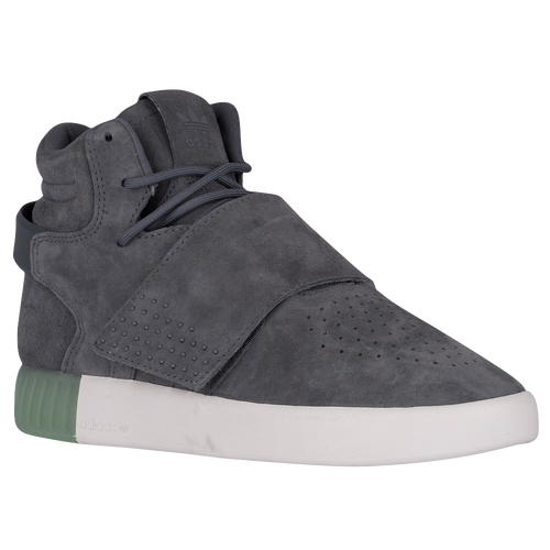 Adidas Taupe / Red Men 'S Tubular Invader Strap Casual Lace Up