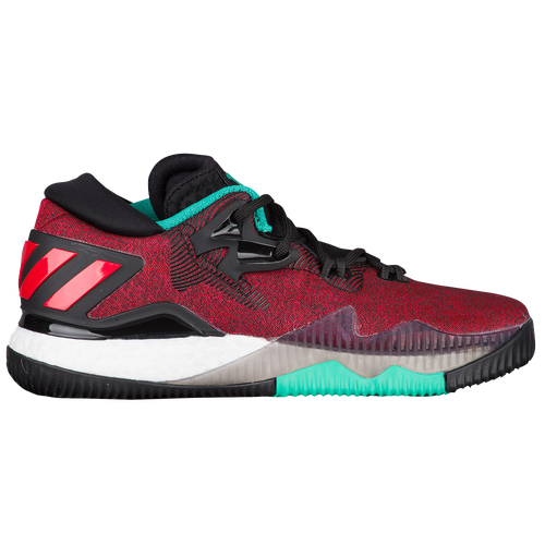 adidas Crazylight 2016 Low - Boys' Grade School - Red / Black