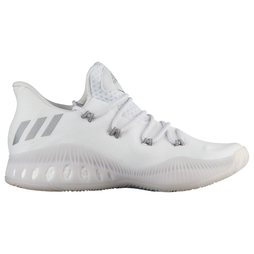 adidas Crazy Explosive Low - Men's - White / Grey