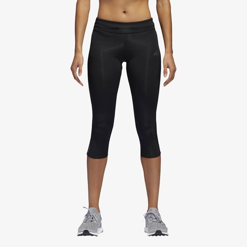 adidas Response 3/4 Tights - Women's - All Black / Black