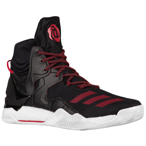 adidas D Rose 7 - Men's -  Derrick Rose - Black / Red