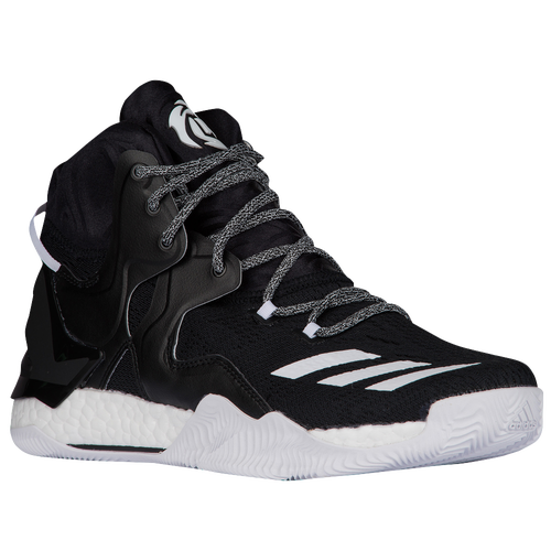 adidas D Rose 7 - Men's -  Derrick Rose - Black / White