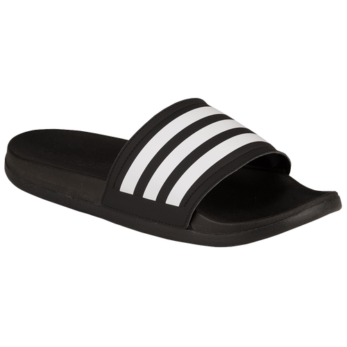 adidas Adilette Cloudfoam Ultra - Women's - Black / White