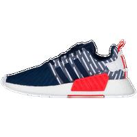 new style bb1de a0aea adidas Originals NMD R2 Primeknit - Men s - Navy   White