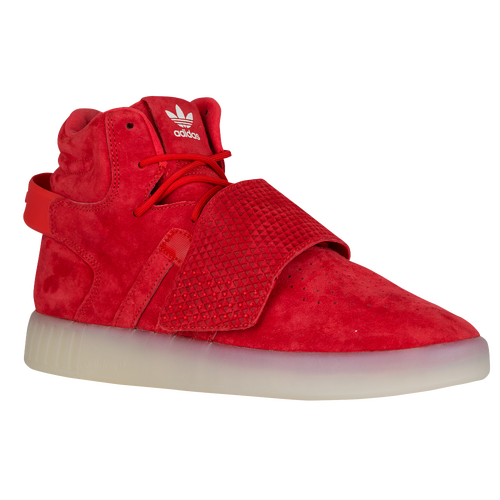 Adidas tubular viral red