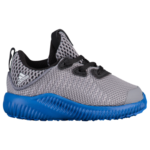 adidas Alphabounce - Boys' Toddler - Grey / Blue