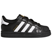 reputable site c16de 15c64 adidas Originals Superstar - Boys  Toddler - Black   White