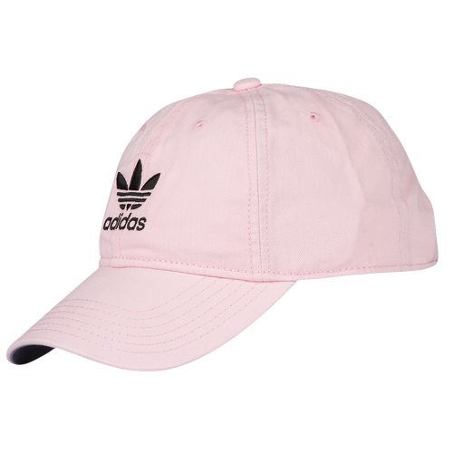 2f76184f3d7 adidas Originals Washed Relaxed Strapback Mens Casual Accessories Clear  Pink White