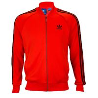 size 40 c4fcf 65b48 adidas Originals Superstar Track Top - Men s - Red   Black