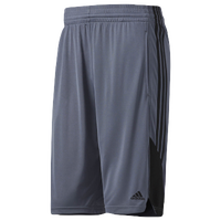 more photos c2ece 39480 adidas Speed Shorts - Men s - Grey   Black