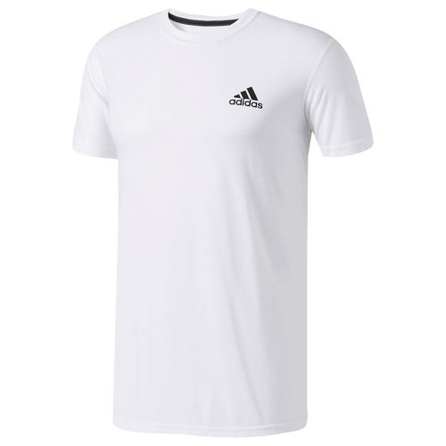 adidas Ultimate Short Sleeve T-Shirt - Men's - White / Black