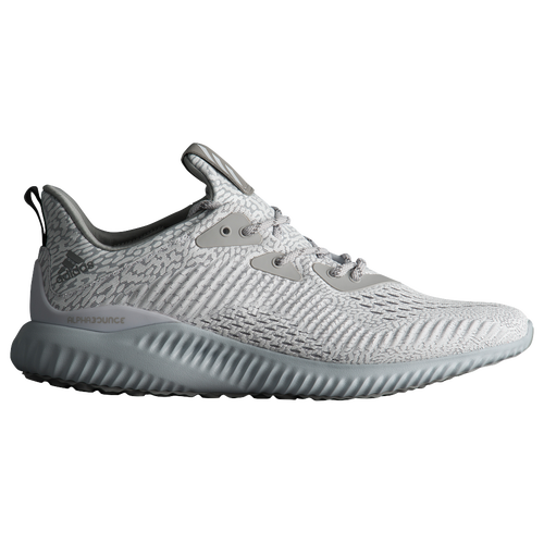 adidas alphaBounce AMS - Men's - Grey / White