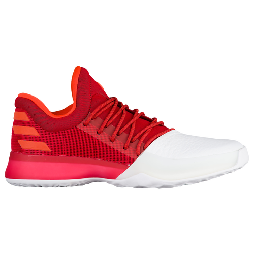 adidas Harden Vol. 1 - Men's -  James Harden - White / Red