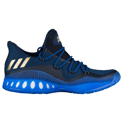 adidas Crazy Explosive Low - Men's - Navy / Gold